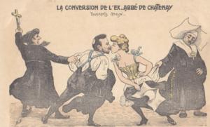 le roman vrai du curé de Châtenay, Alain Denizet l'abbé Delarue