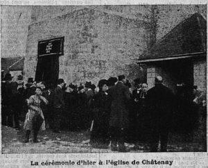 le roman vrai du curé de Châtenay Alain Denizet